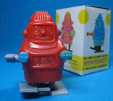 Original Vent Up automate ROBOT made in Hong Kong Rouge + Neuf dans sa boîte en boîte ***
