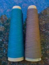 Habu Kit78 Kusha Felted Scarf Kit #3023 Sky Blue/Brown