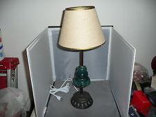 New listing Glass Insulator Lamp Vintage glass insulator table lamp