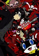 Persona 5 Character Anthology Art Book by Many Illustrators F/S w/Tracking# NEW