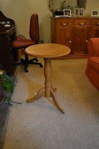 Solid oak bespoke pedestal table-handmade to order.