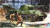 Tamiya 35149 1/35 Scale Model Kit WWII Russian Medium Tank T34-76 ChTZ 1943 Ver.