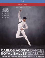 Carlos Acosta Dances Royal Ballet Classics [Blu-ray], New DVDs