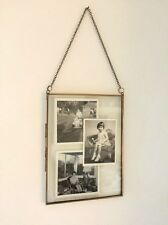 Antique Brass Glass Metal Picture Photo Frame Vintage Style Portrait 7x5