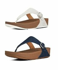 FitFlop 100% Leather Wedge Sandals & Beach Shoes for Women