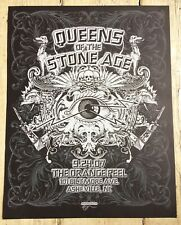 Limited edition screenprint Queens of the Stone Age Mexican Chocolate Design