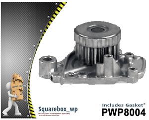 Water Pump PWP8004 fits HONDA Civic EJ 1.7L VTEC OHC D17A/D17Z 11/2000 on