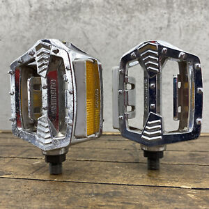 "Shimano PD-MX15 Pedals CHROME 1/2"" SX OPC Old School BMX"