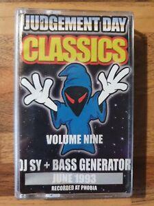 Dj Sy & Bass Generator at Judgement Day 1993 Cassette Tape (fubar/rezerection)