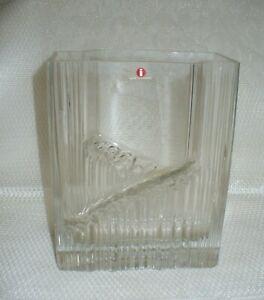 iitala Finland Glass Vase