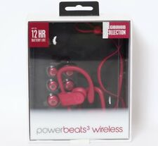 Beats by Dr Dre Powerbeats3 Wireless Earphones Neighborhood Collection Brick Red