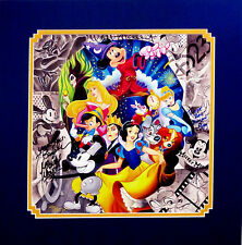 Disney Limited Edition Tim Rogerson Print Signed by Tink & Bret Iwan MickeyVoice