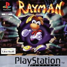 Playstation 1 Ps1 : RAYMAN edition platinum