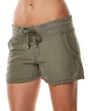 Size 12 Womens Rip Curl EASY CHINO SHORT Womens Casual Shorts - GWAAH1 Olive