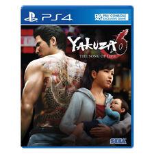 Yakuza 6 Ryu Ga Gotoku 6 Inochi No Uta The Song of Life PlayStation PS4 English