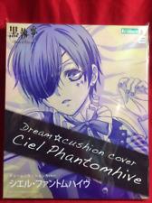 Kotobukiya Black Butler Anime Ciel Phantomhive Dream Cushion Pillow Cover