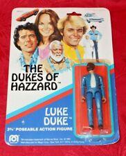 "Mego Dukes of Hazzard Luke Duke 3 3/4"" Action Figure 1981 Mip Rare Vintage Tv"