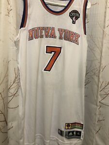 Carmelo Anthony 2012-13 Latin Nights New York Knicks Team Issued Jersey. Xl+2