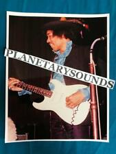 Jimi Hendrix On Stage Smiling Portrait~8x10 Repro~Psychedelic Acid Rock
