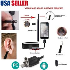 USB Ear Cleaning Endoscope Visual Earpick With Mini Camera Ear Cleaning Tool USA