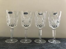 More details for j.g.durand cristal au plomb 24% lead crystal wine glasses (4) - height 17cm