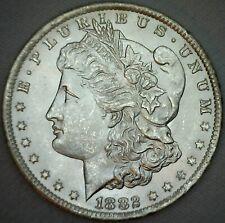 1882 CC Morgan BU Silver Dollar US Coin $1 Silver Coin Uncirculated K13