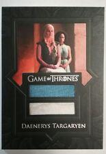 Game of Thrones Season 7 Daenerys Targaryen dual relic VR6 Trading Card RARE