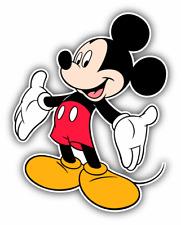 Mickey Mouse Joy Cartoon Car Bumper Sticker Decal 4'' x 5''