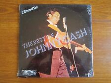 ORIGINAL USA VINYL 2LP JOHNNY CASH THE BEST OF FACTORY SEALED SCELLE ROCKABILLY