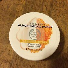 The body shop almond milk & honey butter