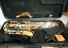 Vito Made in Japan Alto Saxophone in a Selmer Hardshell Case Just Serviced