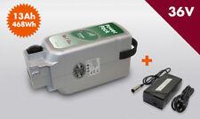 SET E-BIKE VISION Power Pack Ersatzakku für Panasonic 36V 13Ah 468 Wh Lader