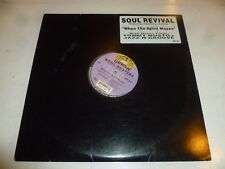 SOUL REVIVAL feat CAPATHIA JENKINS - When the Spirit Moves - USA 5-track 12""