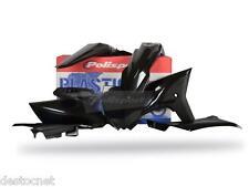 Kit plastiques Polisport  Couleur Noir YAMAHA  YZ 250 F Année 2010-2013