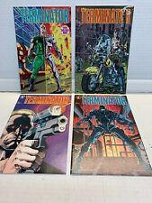 The Terminator #1 2 3 4 Dark Horse 1990 Original Mini Series Comic Book Set 1-4