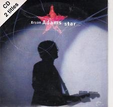 CD CARTONNE CARDSLEEVE 2 TITRES BRYAN ADAMS STAR DE 1996 NEUF SCELLE