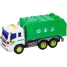 Kinder Spielzeug 1:16 LKW Laster Auto Müllabfuhr Müllauto Recycling Licht Ton