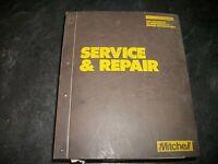 "Mitchell 1986-87 ""SERVICE REPAIR MANUAL"" VOL.IV DOMESTIC CARS"