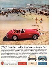 1961 AUSTIN-HEALEY 3000 Mk II ~  CLASSIC ORIGINAL BMC PRINT AD
