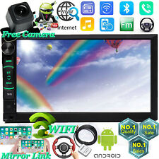 Subwoofer Car Stereo Radio Android 2 DIN 7