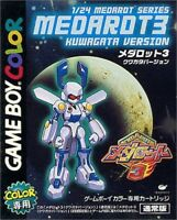 Nintendo GameBoy Color Spiel - Medarot 3: Kuwagata Version JAP Modul