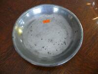 Rarität kleiner alter ca. 200 Jahre alter Zinn Suppenteller oder Katzenteller n4
