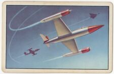Playing Cards Swap Card - Vintage LOCKHEED MARTIN Skunk Works PROTOTYPE PLANES 1