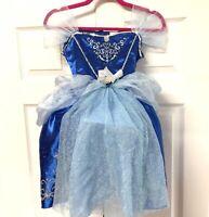 Disney Jakks Cinderella Costume size 4 - 6 Princess Dress Crinoline Ball Gown