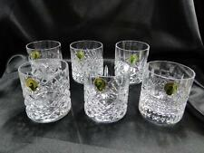 Waterford Crystal, Heritage: NEW Set 6 Whiskey Tumblers & Box, FREE Gift Wrap