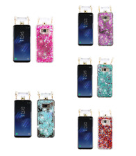 For Samsung Galaxy S8 Quicksand Glitter Diamante Perfume Bottle Protector Cover