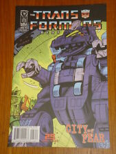 TRANSFORMERS BEST OF UK CITY OF FEAR #3 RI RETRO COVER 2009 IDW ANDREW GRIFFITH