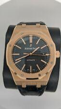 Audemars Piguet Royal Oak 18k Rose Gold Automatic Watch -15400OR.OO.D002CR.01
