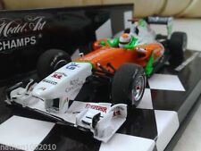 Voiture de courses miniatures orange MINICHAMPS