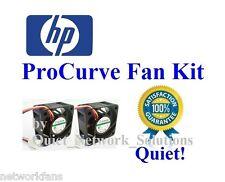Quiet HP ProCurve 2650 Fan Kit (J4899A), 18dBA 2x Fans Best for Home Networking!
